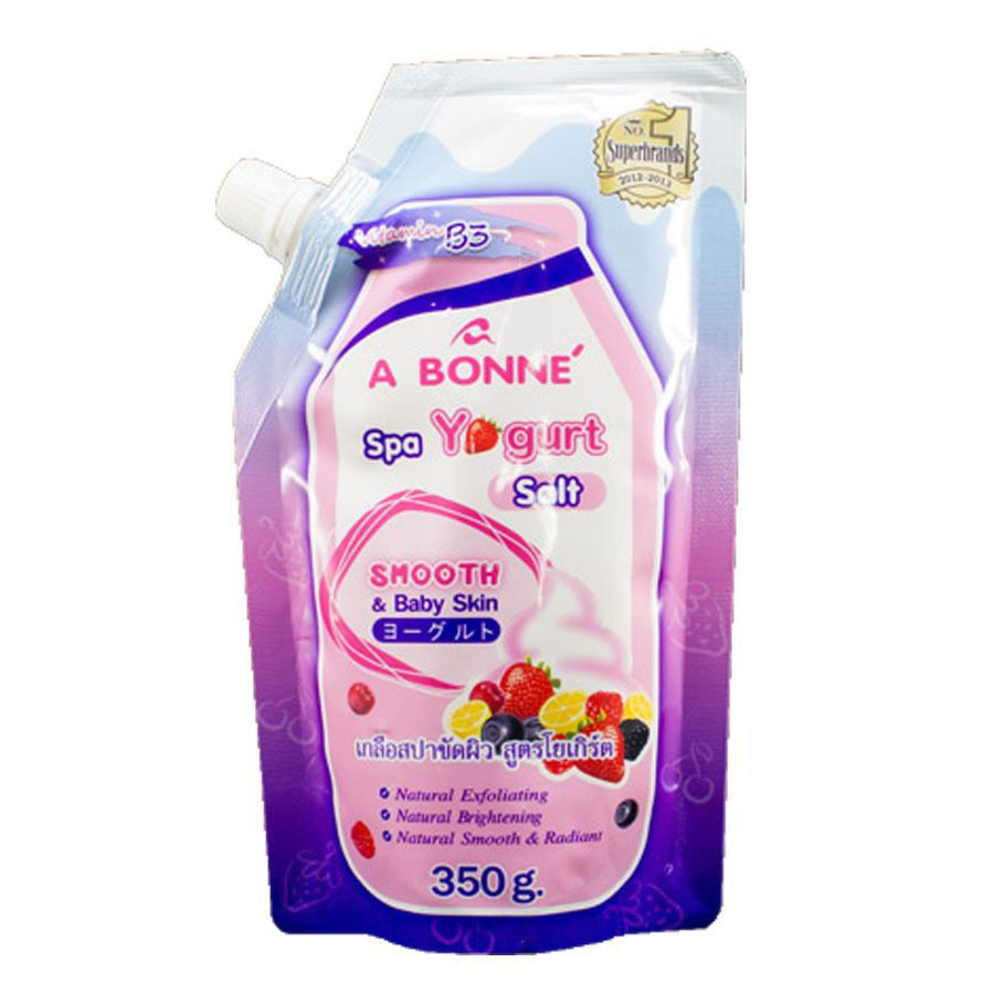 a bonne spa yogurt salt 350g